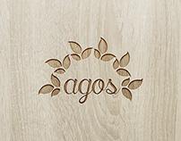 spa `agos` logo design