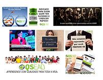 Escola de cursos online - Postagens em redes sociais