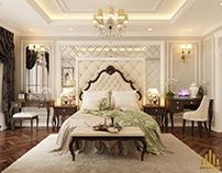 Nhà Chị Tiên – Phòng Ngủ Tân Cổ Điển – RoyalCity