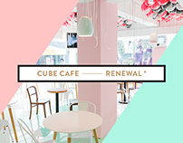 Cube Cafe Rebranding + Interior