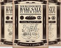 Bake Sale - Premium A5 Flyer Template