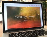 Website design for Gráinne Dowling Art
