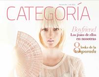 Dirección de fotografía Revista Categoría Oviedo