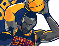 2017 Cleveland Cavaliers Social Graphics