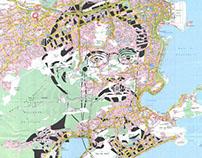 Human Cartography: Machado de Assis / Rio de Janeiro