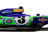 Le Mans / F1 Crossover Liveries