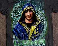 T-shirt design for LOMUS