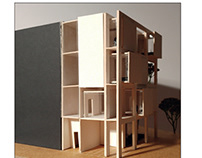 2nd prize Young Architects' Competition Private house