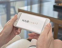 Hairunner App Branding + Landing Page Design