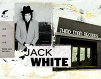 Jack white (musician) website