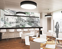 Design a business center in St. Petersburg for Gazprom