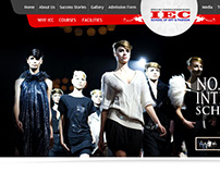 IEC website designing @ 014