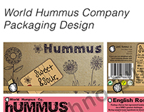 World Hummus Company Packaging Design