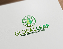 Global leaf | Logo Template