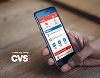 Mobile App for CVS