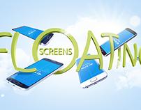 S6 & S6 Edge Floating Screens