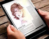 Illustration skin care for Minnesota Magazine