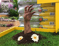 Agricult soil promo display