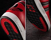 Adidas - Red Varial Hightop