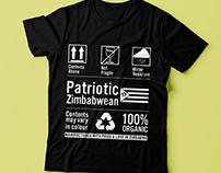 Patriotic Zimbabwean T shirts