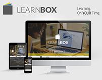 LEARNBOX - Logo design and website