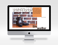 ShoesBar web design