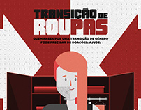 Cruz Vermelha RJ - Transição de Roupa