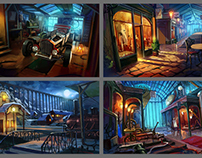 Modern Tales, locations concepts