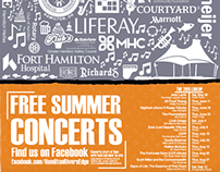 RiversEdge Concerts Program Print Campaign