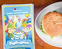 Applebee's Kids Menu / Activity Book