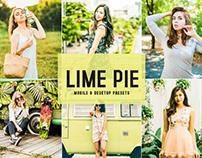 Free Lime Pie Mobile & Desktop Lightroom Presets
