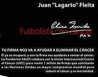 """2011 – """"Firmá contra el Cáncer"""""""