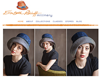 Website Design | Elizabeth Rohloff Millinery