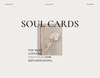 Soul Cards — shopify e-commerce website design