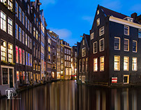 Amsterdam at Night - How to Improve your Travel Photos