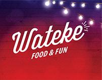 Wateke. Food & Fun. Art Direction & Design.
