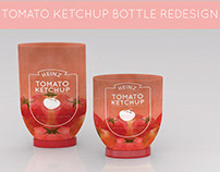 HEINZ Ketchup bottle ReDesign