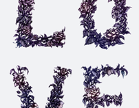 'LOVE' -  illustrated typography