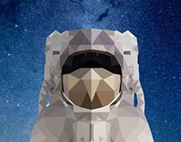 Geometric Astronaut Design