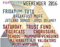 Pop!South Weekender and Indie Disco (2016)