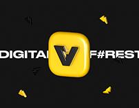 Vizart Events — Logotype & Corporate Identity