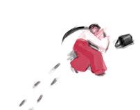 Yuki Onna Animation