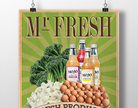 Mr Fresh Carine - A4 Flyer Samples