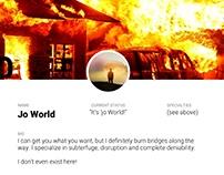 Daily UI #06 User Profile