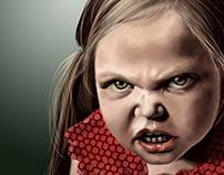 Angry Little Girl