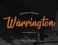 Warrington - Brusf Font