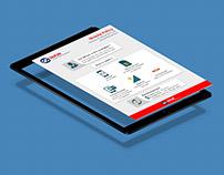 Infographic UI for Kotak Mahindra