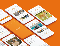 Paw-in-hand app redesign