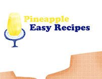 Pineapple Eazy Recipe Illustrations