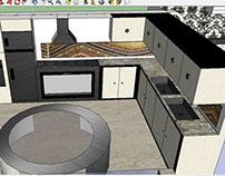 Projeto Casa Sketchup